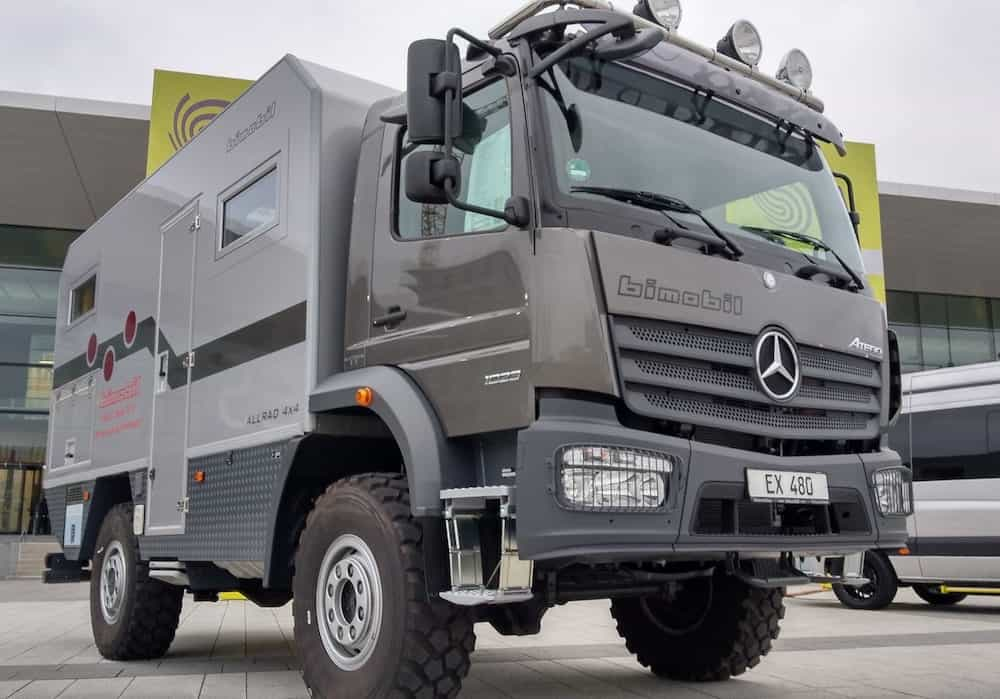 Expeditions-Wohnmobil ohne Gas
