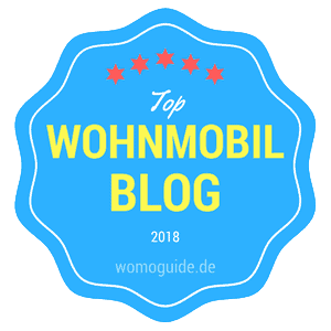 Top Wohnmobil Blog Badge 2018