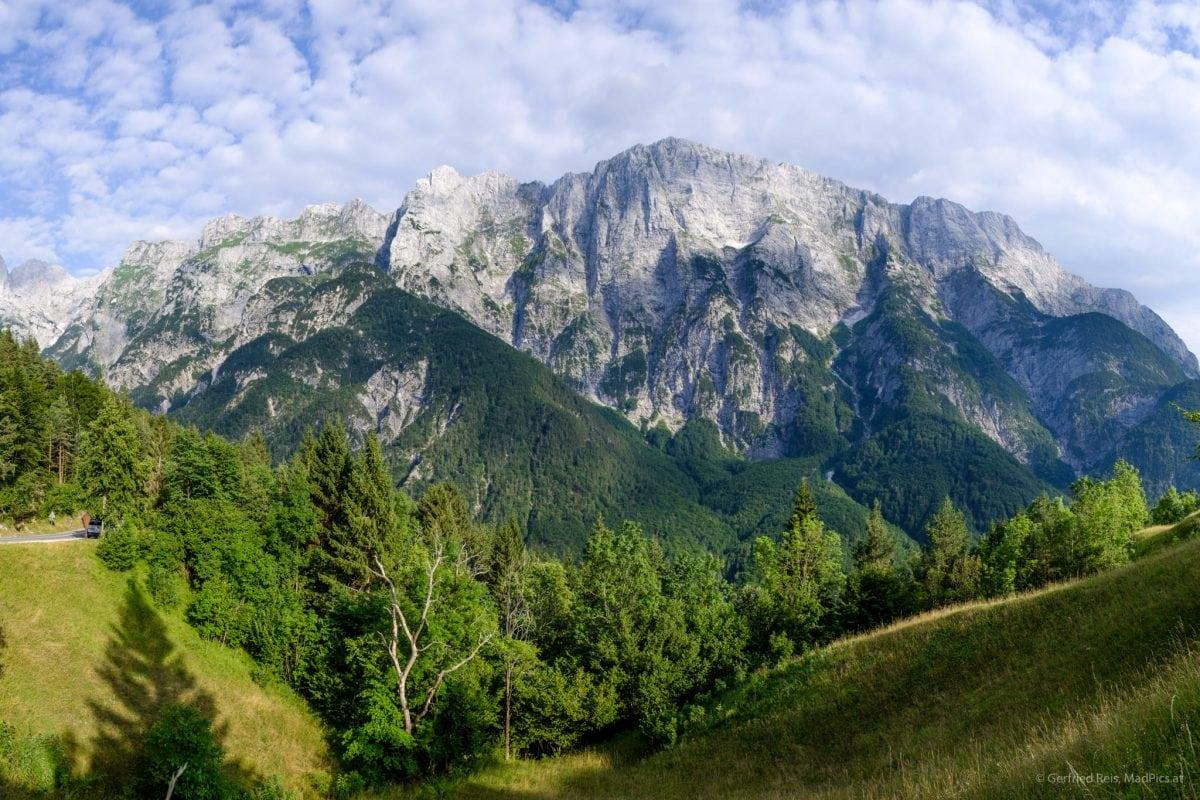 die Julischen Alpen am Predil-Pass